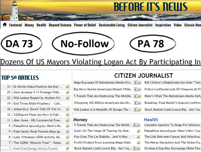 Guest Post On Beforeitsnews DA73 (HQ News Site With Huge Monthly Visitor)