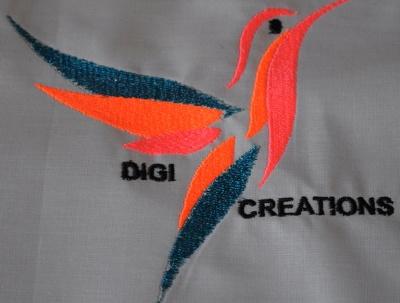 Digitize a Logo in Embird