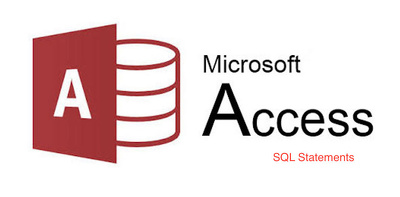 Write/modify SQL statements for your Microsoft Access Database