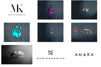 Design logo with unlimited revisions+ sourcefiles+ business card