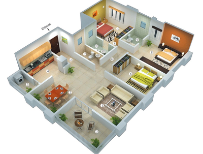 Redraw Your Hand Drawing Into Home Plans With Detail