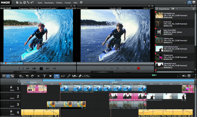 Do video editing of any type