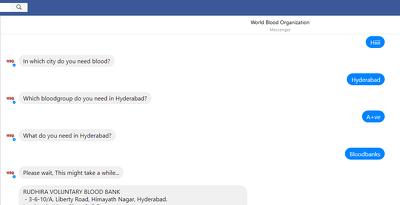 Develop a facebook messenger bot