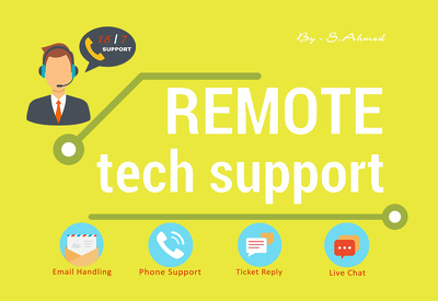 Provide 1 hour of Remote Tech Support (Windows, Mac, Ubuntu or VoIP Troubleshooting)