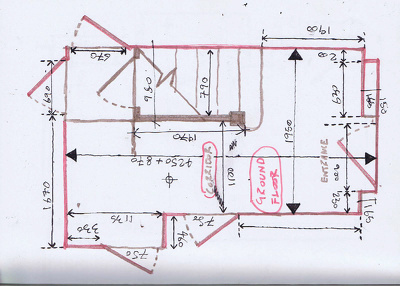 Convert your hand sketch to professional Autocad drawing