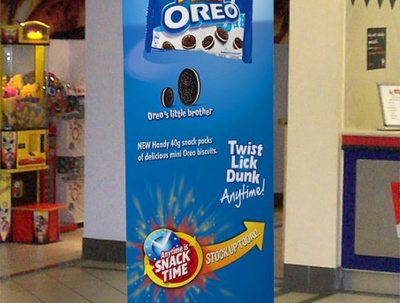 Design and Print x 1 Roll-up Banner With Free Delivery in UK