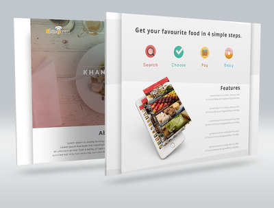 Design and develop a food ordering website