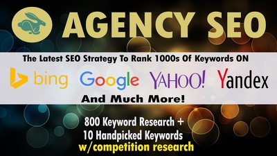We will do 50 Keyword Research-1st Page Google Guarantee