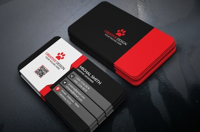 Design your business card with unlimited revision in 24 hours.