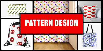 Design you a funny repeat pattern design