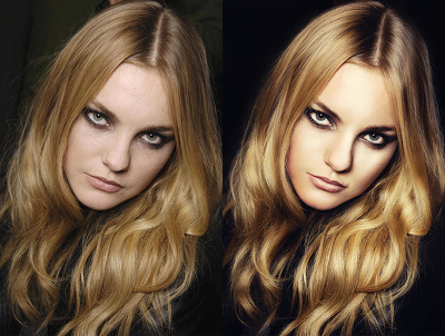 Professionally retouch your 2 of your images