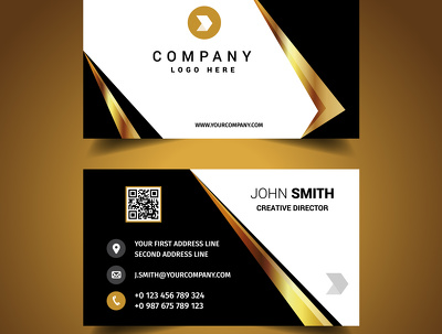 Design Professional and Modern Visiting/Business card for your Business