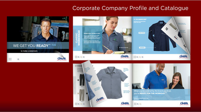 Design and layout Company Profile and Product Catalog
