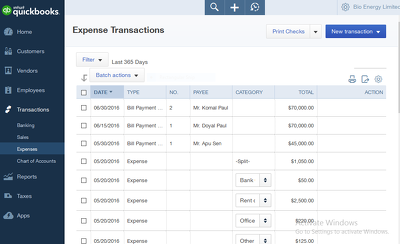 Keep your Books of Accounts using online Accounitng Software like QuickBooks, Xero
