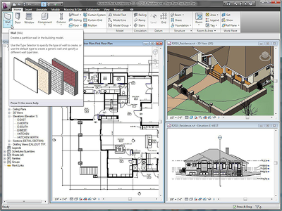 Give shape to your project idea in the form of 2D & 3D Revit Architecture model