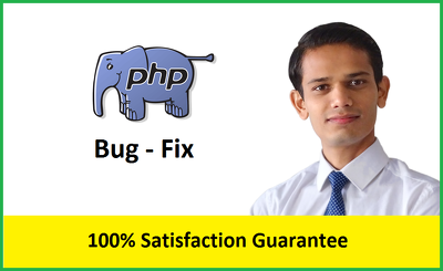 Fix any PHP, Javascript issues