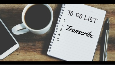 Transcribe up to 40 minutes of audio/video in English
