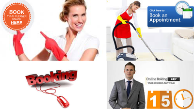 Online Cleaner/Maid Booking Application with LIFETIME FREE Support