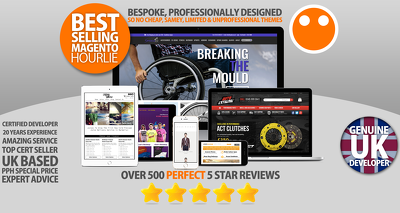 Design & Develop you a Bespoke Magento Ecommerce Website