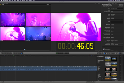 Do 2 mins of video editing with Final Cut Pro in 1 day