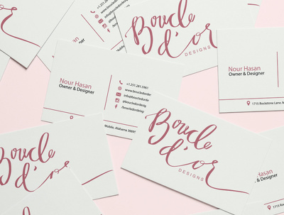 Design a double sided business card