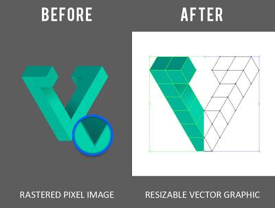Vectorize, Customize & Improve Your Logo