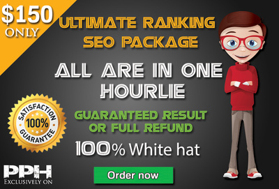Offer Ultimate Ranking Seo Solution + high Quality backlinks + Guaranteed Serp