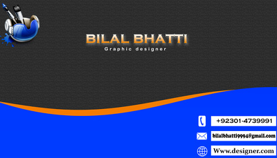 Design attractive business card for you