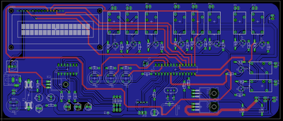Design a professional pcb layout for electrical circuits