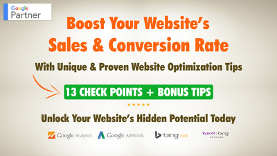 Boost Your Website's Sales & Conversion Rate.