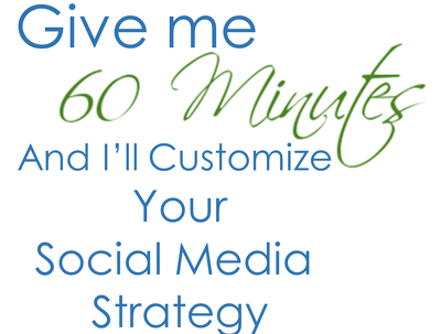 Provide 1-hour of social media marketing consultation & a detailed strategy plan