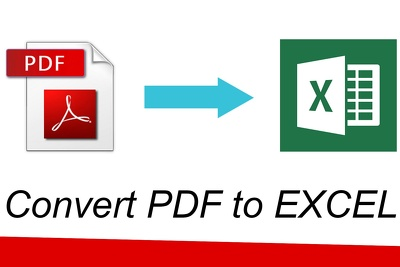 Convert 5 pages of pdf to excel, pdf to word and reverse.