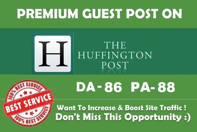 Guest post on the HuffingtonPost - Huffingtonpost.Ca - 100% Google indexed