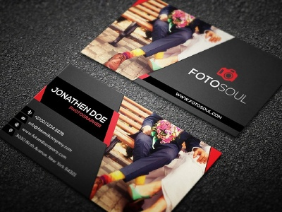 Design a professional, double sided business card & stationary