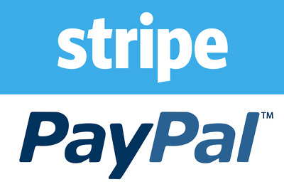 Integrate payment systems like paypal stripe in your website