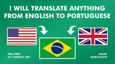 Translate English to Portuguese - up to 3000 words.
