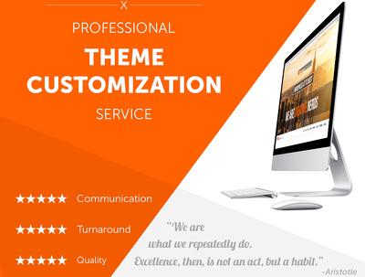 Setup and Customise WordPress Theme