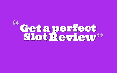Write an informative slot review