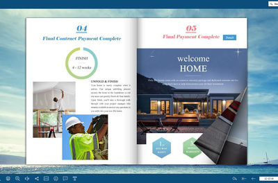 Convert your PDF to an amazing flipbook / Magazine or album for your images