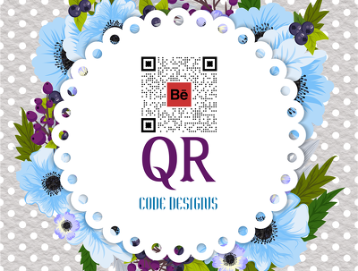 2 eye catching QR code designs