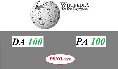 Create WIKIPEDIA Backlinks Permanent, Niche Relevant
