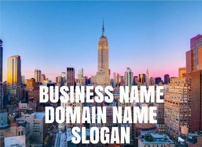 Business Name - Company Name - Domain Name - Slogan