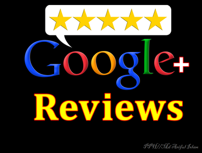 Provide 7 Google Plus 5 Star Review boost your google ranking