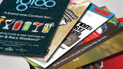Design and Print x1000 Flyers or Leaflets with Free Delivery in the UK