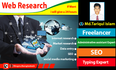 Do deep & quality web Research for you