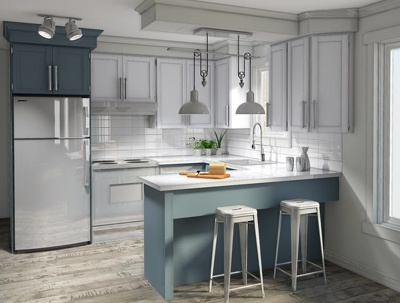 Design heigh quality realistic rendering of you kitchen