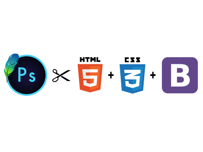 Convert PSD to Html5, CSS3, Responsive Bootstrap