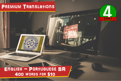 Translate 400 words from English to Brazilian Portuguese