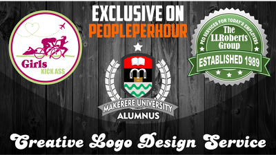 Make creative logo design for you