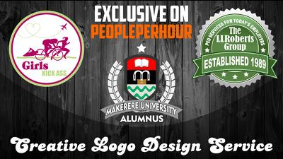 Make creative logo design for you